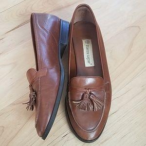 Vintage Leather Etienne Aigner Auburn Loafers 7.5